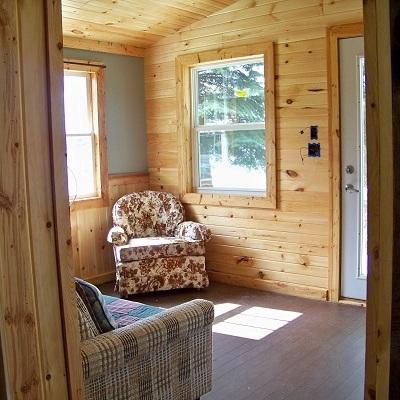 Cabin One interior