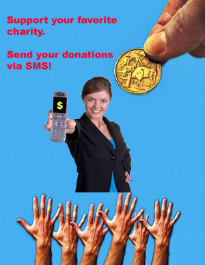 how to get charity donations online