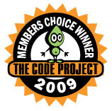 Code Project - Membership Choice Award - 2009