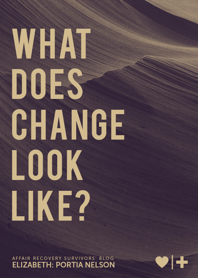 what does change look like - Elizabeth