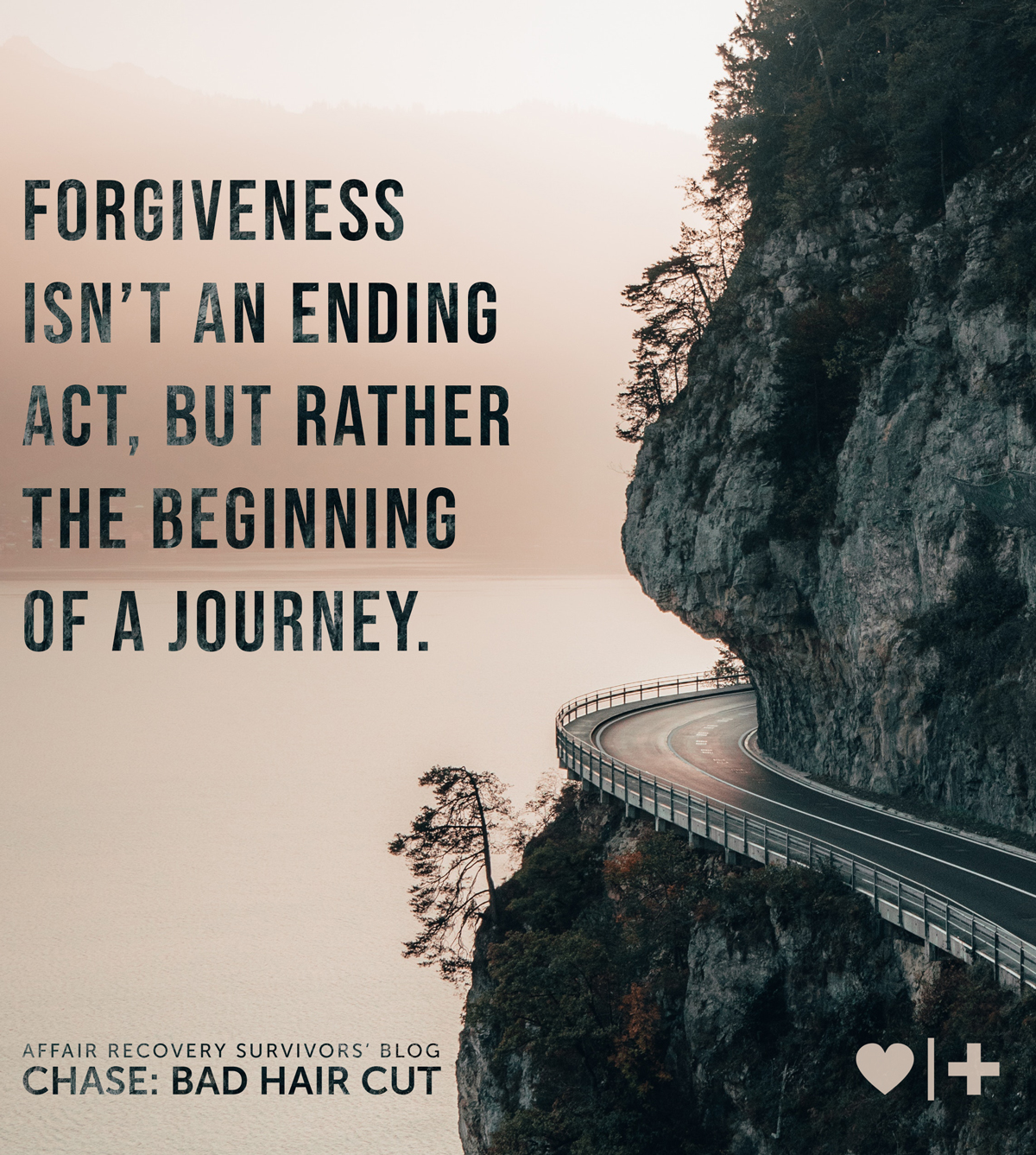 forgiveness isn't an ending act, but rather the beginning of a journey - survivors blog - chase