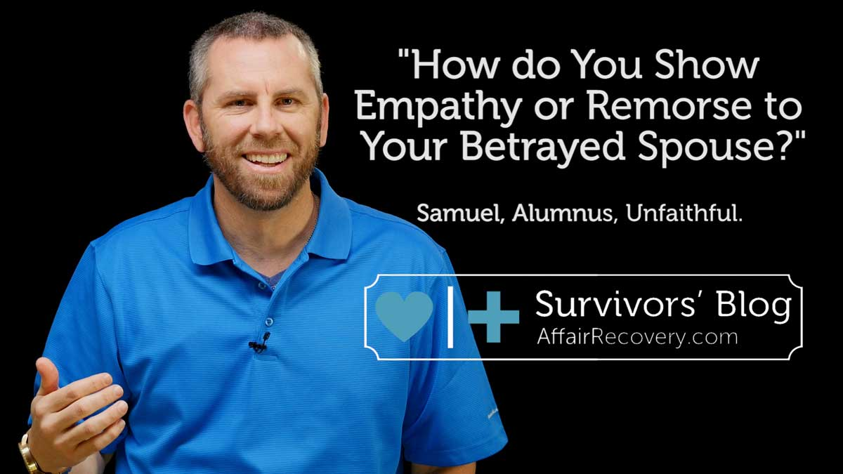 How do you Show Empathy or Remorse to Your Betrayed Spouse ... - photo#6