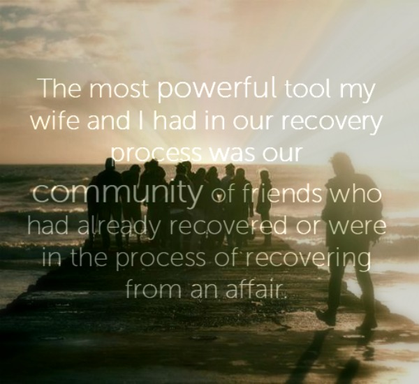 survive an affair recovery components