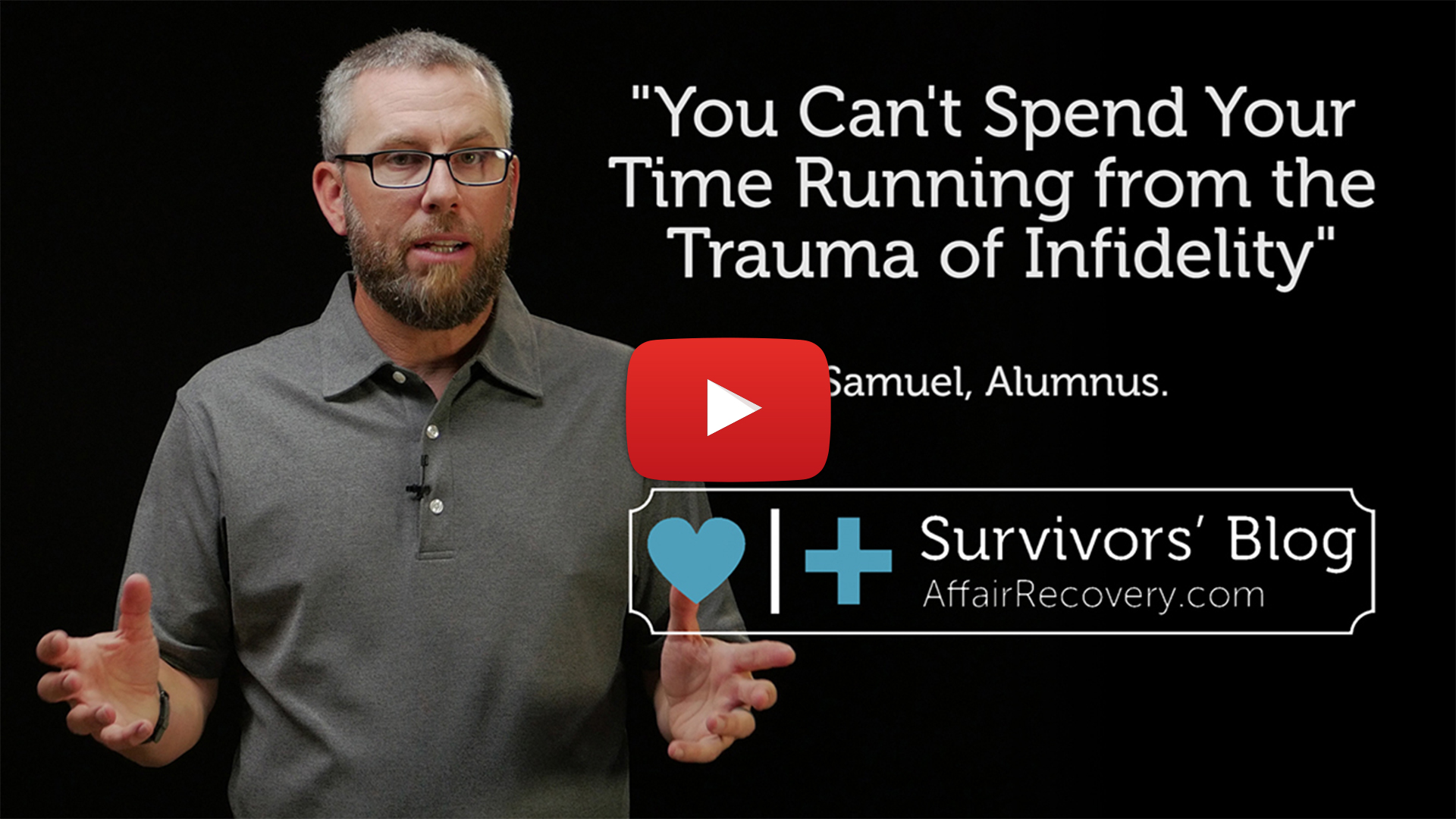 Survivors' Blog - You Can't Spend your Time Running From Trauma After Infidelity