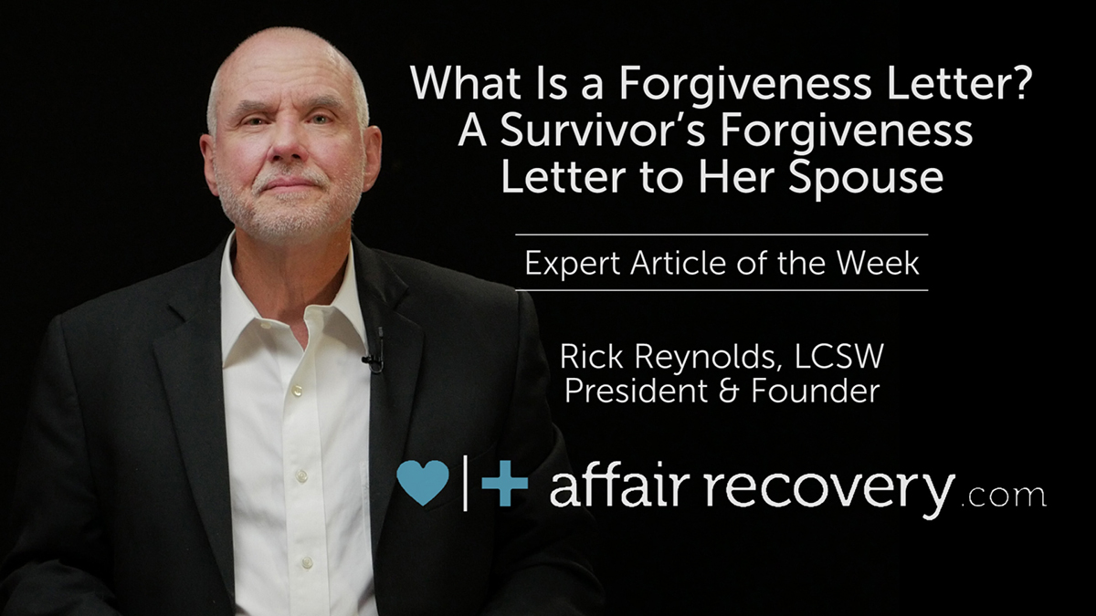 What Is A Forgiveness Letter?