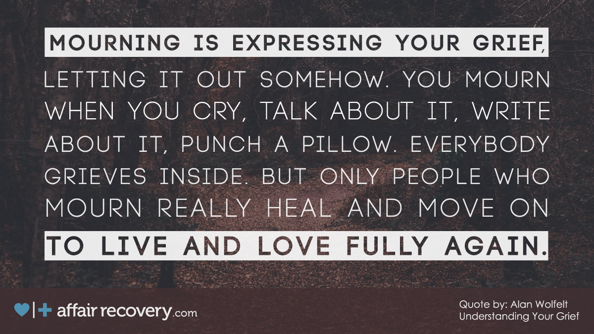 Grieving vs. Mourning - Dr. Alan Wolfelt