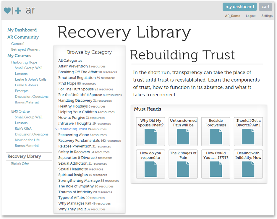 Recovery Library