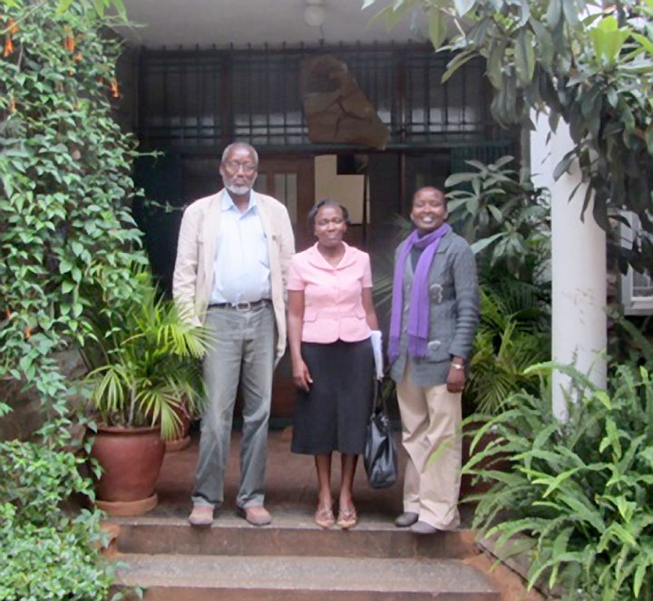 TARA welcomed Hussein and Mercy from Kivulini Trust