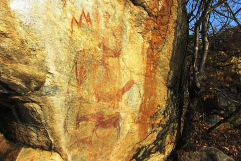 The Rock Art of Thawi