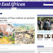 The East African, Trust For African Rock Art