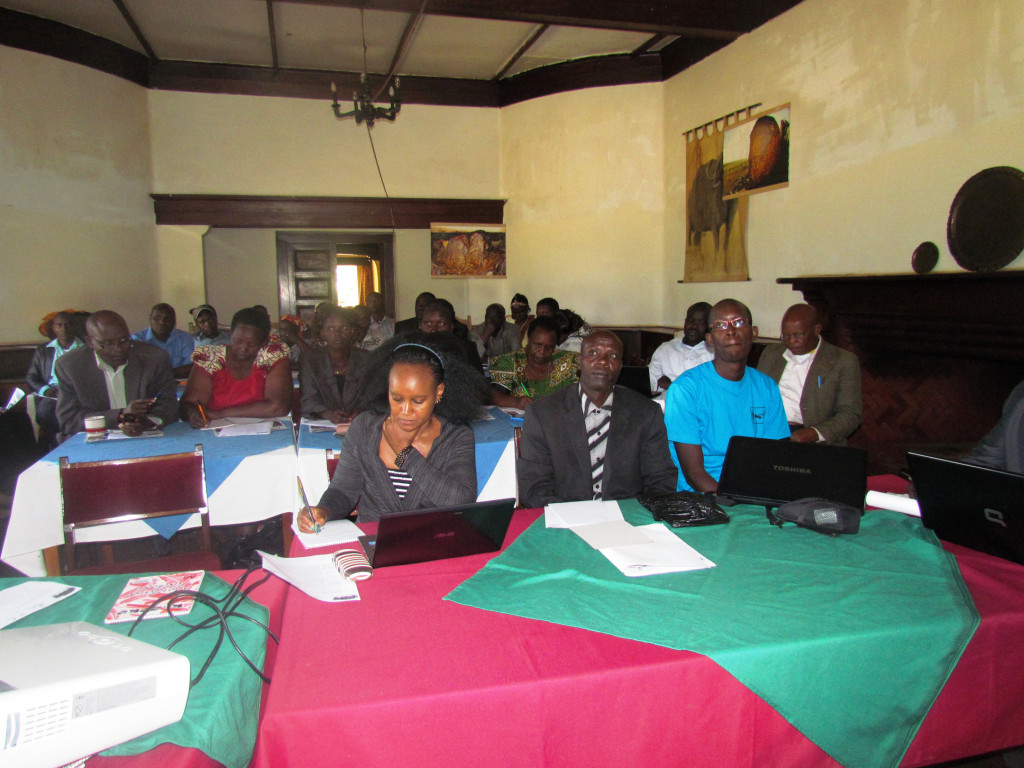 community workshop, kenya