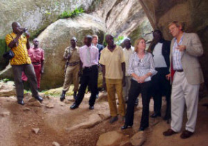 United States Embassy, Uganda Funds Preservation of Nyero Rock Paintings, Trust for African Rock Art