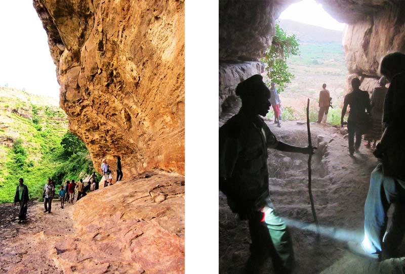 Ethiopian rock cave