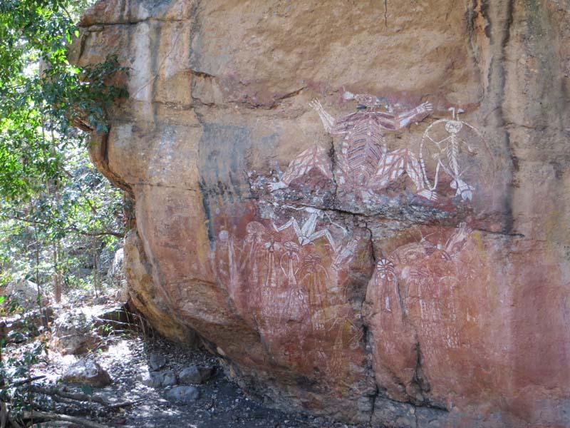 Australia rock art