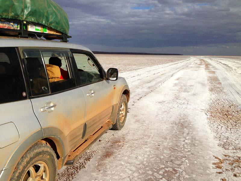 TARA at Chalbi desert