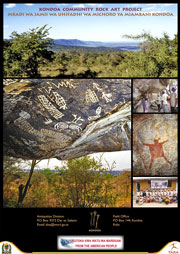 Kondoa Rock Art Poster