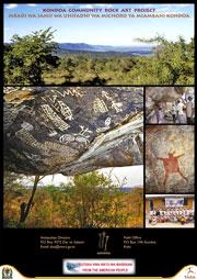 Kondoa Rock Art Poster