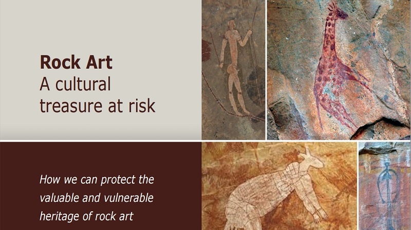 Getty Inst Rockart cultural heritage at risk