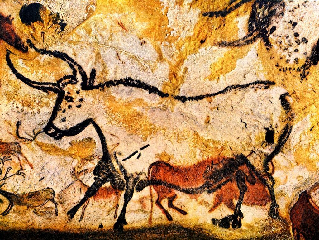 aurochs cave art