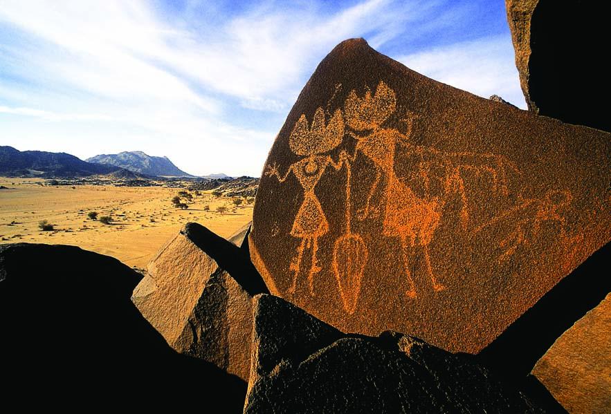 dressing African rock art