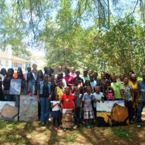 school visit to TARA