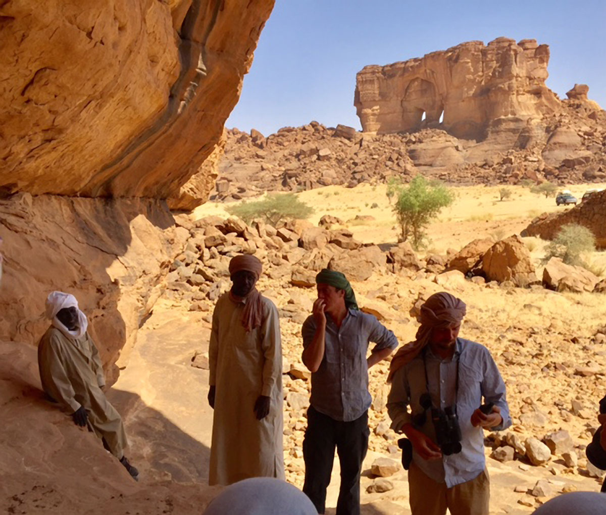 Chad's Ennedi Mountains Expedition