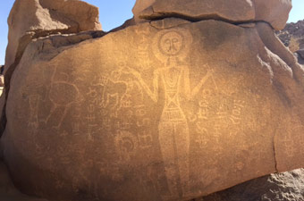 niger safari, rock art safari, david coulson