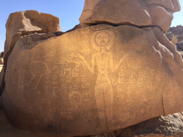 niger safari, rock art safari, royal african safaris, david coulson