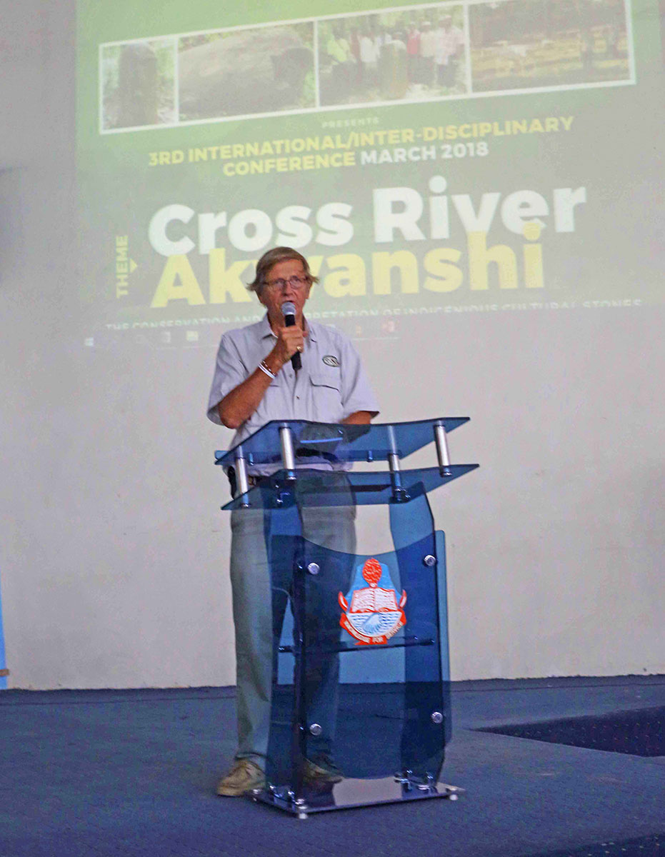Akwanshi Conference, Calabar, David Coulson