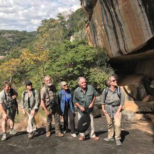 Rock art Safari in Mashonaland and Matabeleland.