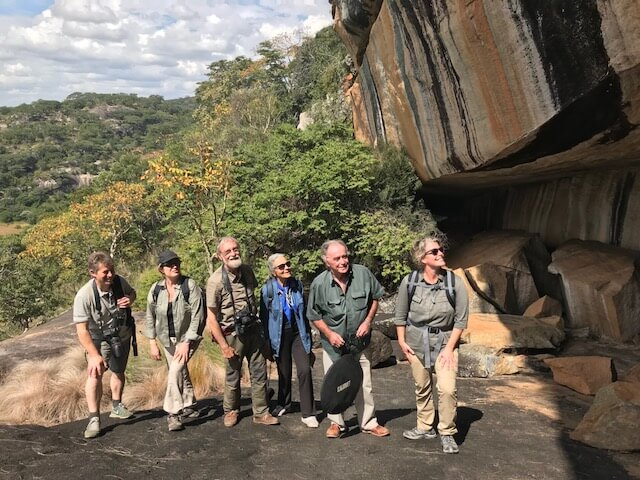 Rock art Safari in Mashonaland and Matabeleland.