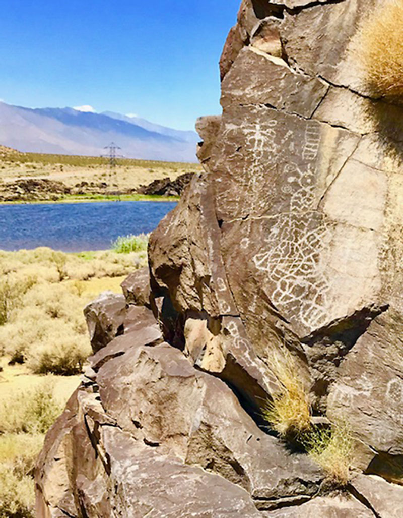 Little Lake Rock Art Site, Mojave Desert, California