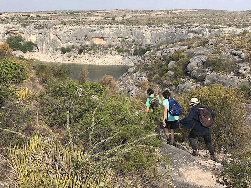 White Shaman Shelter near Rio Grande