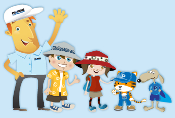 Propane Kids Characters