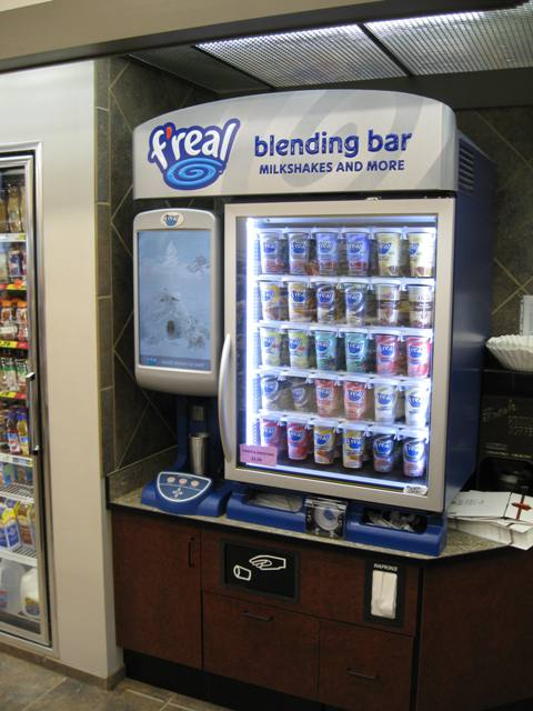 freal smoothie machine