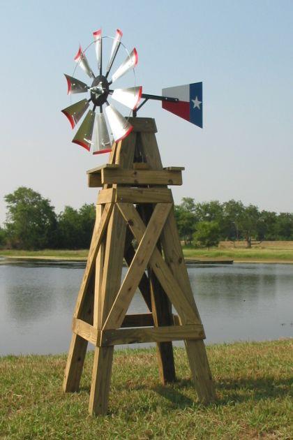 Potts Feed Store Lonestar Windmills