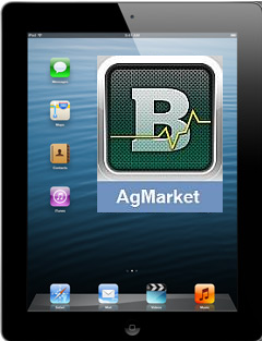 AgMarket app screen shot