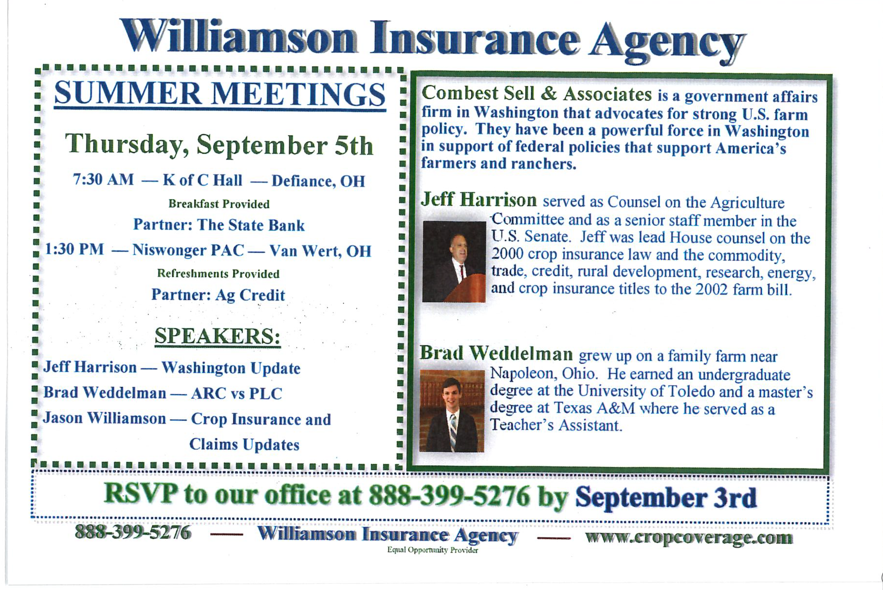 Williamson Insurance - Homepage