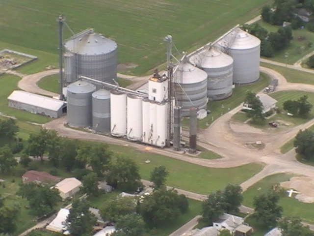 Arial Photo Beason July, 2009