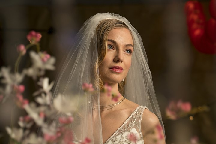 ebf72c67f772 The Sony 100mm F2.8 STF GM OSS is just a beautiful lens for a  head-and-shoulders bridal portrait. The primary light in this shot came  from a very large ...