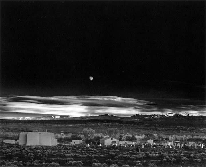 AI-AP | DART » Special Report: Ansel Adams' Moonrise