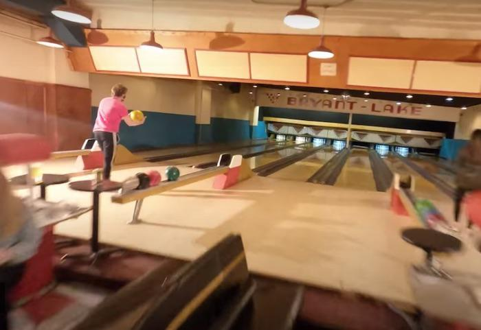 AI-AP   Motion Arts Pro » Spotlight: A Drone in a Bowling Alley; a Drone in a Movie Theater, and a Desolate City