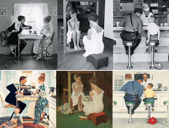 AI-AP | DART » Norman Rockwell Behind the Camera