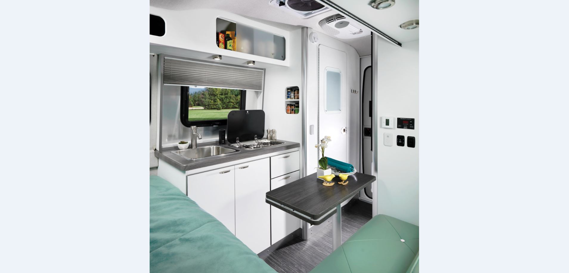 2018 Nest by Airstream l Interior l Galley