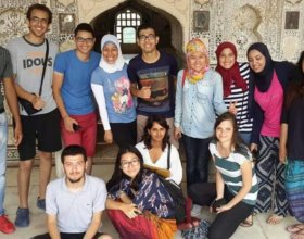 AIESEC students in India (Sara Yassin)