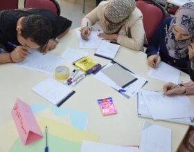 "An ""Effective Communication Skills"" workshop for DAFI students at Jubilee Institute in Amman, Jordan (DAFI FaceBook page)"