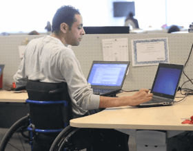The policy for university admissions is not very different from practices used in other areas of Egyptian society regarding people with disabilities. (Image by: zeroproject.org)