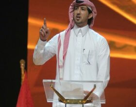 Poet Ziad bin Naheet. (Photo credit: Middle East Online)