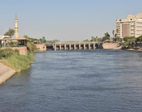 El Ibrahimiya Canal, Egypt's largest irrigation canal, depends on water from the Nile. (Photo by Tarek Abd Elgalil)