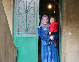 Nessrine and her family had to find a new apartment after their eviction from Aassoun Tower (photo: Nasser Zawk)